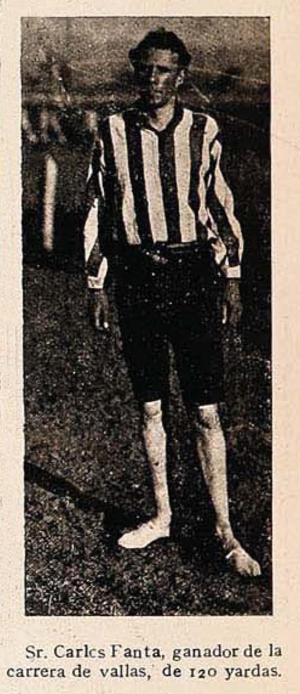 Carlos Fanta en 1911